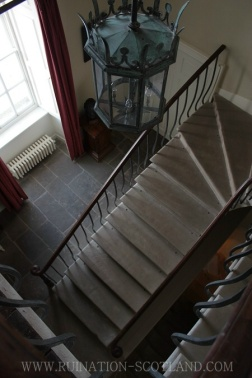 The stair hall