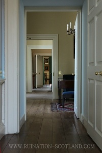 View through the ground floor rooms