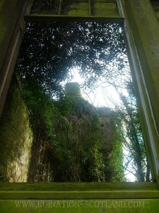 Seacliff - through the conservatory window