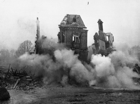 Achmore House demolition