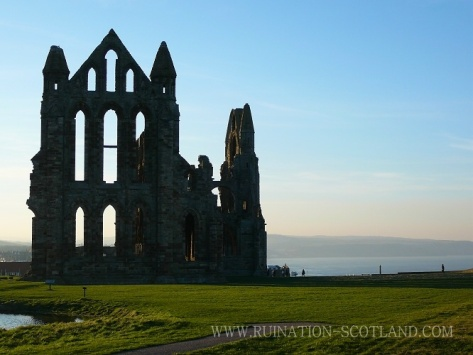 Whitby Abbey - the highlight of my half-terms for many years