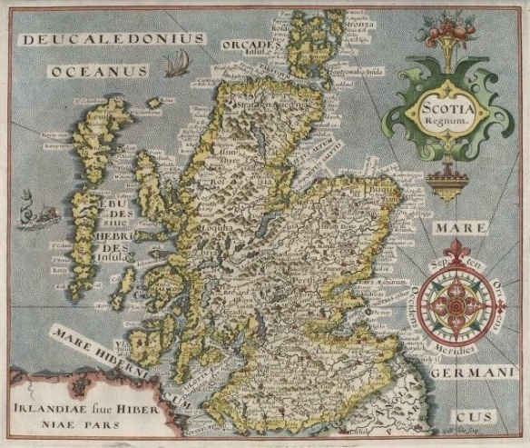 1624 map of Scotland, NLS