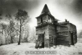 Ruined Wooden Church, Kaibolovo - Simon Marsden