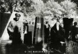Soviet Tombs, Novodevichy Cemetery - Simon Marsden