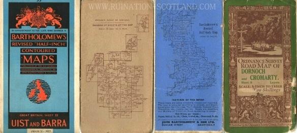 Vintage maps I